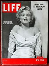 Life Magazine ~ April 7, 1952 ~ Marilyn Monroe The Talk of Hollywood