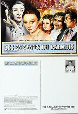 4 X LES ENFANTS DU PARADIS FILM POSTCARDS - MARCEL CARNE MARIA CASARES