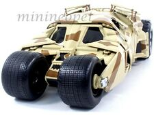 HOT WHEELS BCJ76 THE DARK KNIGHT RISES BATMAN BATMOBILE TUMBLER 1/18 CAMOUFLAGE