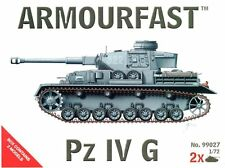WWII Toy Soldiers 1/72 German Panzer Pz IV G Tank Armourfast Airfix Type 99027