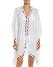Tommy Bahama Lace Trim Tunic Swim Cover-Up, S