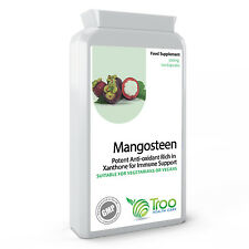 Pure Mangosteen 500mg 120 Capsules Superfood Antioxidant Health & Beauty Support