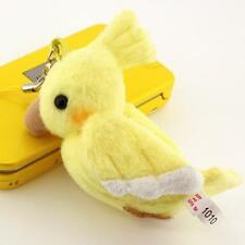 Cockateel Yellow Soft Stuffed Plush Doll Cell Phone Strap Charm Accessory