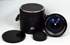 Vivitar 20mm f3.5 Wide-Angle Minolta MD MC Lens with Cap & Case Has Issues