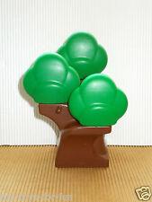 Lego Duplo ~ árbol ~ con ~ 3 coronas ~ verde marrón ~ LaDigue ~ zoo ~ granja