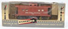 Gilbert HO 33516 New York central lighted caboose in original box Lot 148