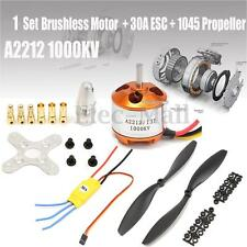 A2212 1000KV Brushless Motor w/ 30A ESC + 1045 Propeller for DJI F450 550 FNHB U