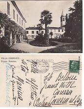 # FIGINO SERENZA: VILLA FERRANTI  - fotocartolina