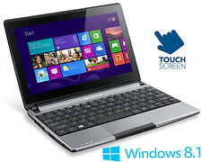 Packard bell écran tactile 10,1 pouces Intel n2806 2 go 320 go windows 8.1 me69bm ordinateur portable