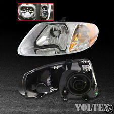 2001-2007 Dodge Caravan Grand Caravan Headlight Lamp Clear lens Halogen LH