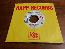 Critters 60s ROCK DJ 45 Dont Let the Rain Fall on Me / Walk Like a Man Again