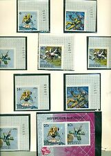 EXPLORATION SPATIALE - SPACE EXPLORATION BURUNDI 1965 set+block B