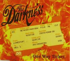 Maxi CD - The Darkness - One Way Ticket - #A2433