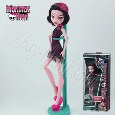 MATTEL Monster High Dolls Daughter of Dracula Draculaura 27cm PVC Figure In Box
