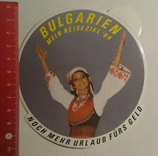 Aufkleber/Sticker: Bulgarien mein Reiseziel 84 (270716148)