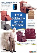 Celebrity riser recliners large selection. Bexleyheath,Sidcup,Welling,Dartford.