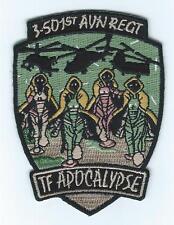 3-501st AVIATION REGT  TF APOCALYPSE patch
