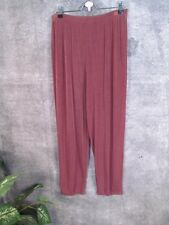 CITIKNITS Taupe Warm Brown Travel Knit Ankle ? Pants L LRG Petite?