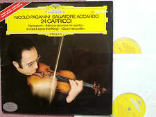 DG 2721 185 Paganini 24 Caprices etc. / Accardo 2 LP set