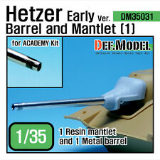 Hetzer early type baril mantlet set 1 (for academy 1/35) upgrade set