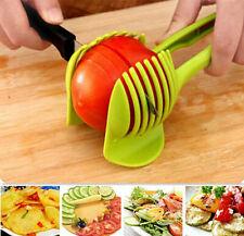 Fruit Potato Vegetable Cutter Tool Clip Holder Tomato Slicer Hot Lemon Kitchen