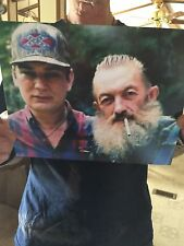 Autographed Jesco White Photo With Popcorn Sutton