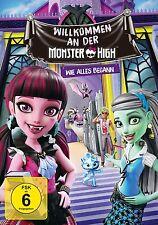 MONSTER HIGH - WILLKOMMEN AN DER MONSTER   DVD NEU
