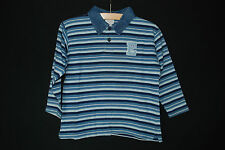 cooles Langarmshirt Shirt m. langem Arm | Polokragen aus Jeansstoff | 110 116
