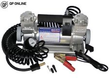PORTABLE AIR COMPRESSOR - DOUBLE PUMP 150L/150P BRAND NEW DA2392