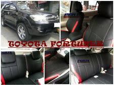Toyota Fortuner High quality Factory Fit Customized Leather CAR SEAT COVER