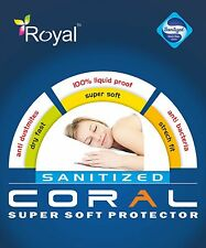 ROYAL 100% Water Proof SUPER SOFT  Protector QUEEN SIZE 5FEET  CORAL