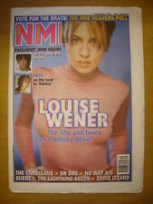 NME 1996 DECEMBER 7 SLEEPER LOUISE WENER BECK SUEDE DR DRE LIGHTNING SEEDS