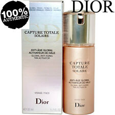 100% Autentico DIOR CAPTURE TOTALE Solaire Global Anti-invecchiamento Tan ATTIVATORE £ 125