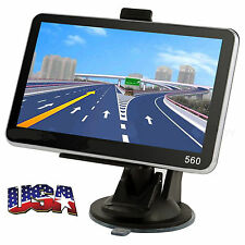 5'' TRUCK CAR Navigation GPS Navigator SAT NAV 8GB Free US Maps Updates