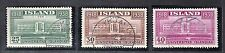 VI 130 ICELAND #209-211 STAMP, USED, CDS, LC $54.00