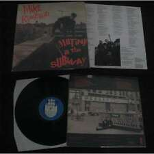 MIKE RIMBAUD - Mutiny In The Subway LP French Folk Garage Rock With Insert NM