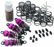 RC Car Alloy 50mm Shock Damper Suspension Set For Tamiya TT-01 TT01 E D R PURPLE