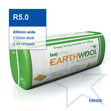 R5.0 | 430mm Knauf Earthwool® Thermal Ceiling Insulation Batts