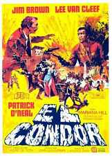 El Condor Poster 05 A3 Box Canvas Print
