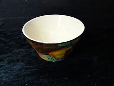 H&K Tunstall Hand Painted Fruiot Pattern Sugar Bowl. Mark 1933-1942