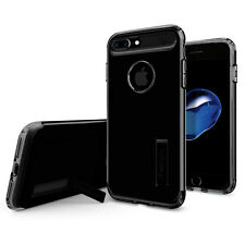 Spigen® For Apple iPhone 7 Plus [Slim Armor] Shockproof TPU Case Kickstand Cover