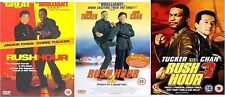 Rush Hour 1, 2 and 3 Complete Collection DVD Jackie Chan Brand New and Sealed