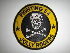 Vietnam War Patch US Navy Fighter Squadron VF-84 FIGHTING 84 JOLLY ROGERS