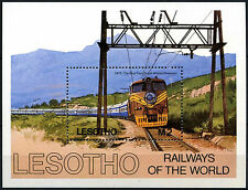 Lesotho 1984 SG#MS610 Railways Of The World MNH M/S #D40140