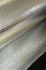 26.25sqm MP 2:2 FOIL INSULATION DOUBLE FOIL DOUBLE BUBBLE  1 ROLL 6mm THICK
