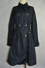 Woolrich Women's Navy James Lucas Trench jacket  NWT  Size S