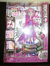 MONSTER HIGH ARI HAUNTINGTON DOLL SINGING POPSTER WELCOME TO MONSTER HIGH