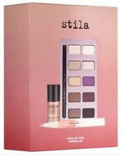 STILA COME UP ROSES MAKEUP SET inc 10 Piece Eye Shadow Set