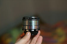 m42 mount SILVER 16 BLADES HELIOS 44-2 f=58mm 1:2.0 EXCLUSIVE LENS