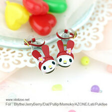 Melody shoes_RED for Blythe / DAL / Pullip / Momoko/ Lati_y/Pukifee